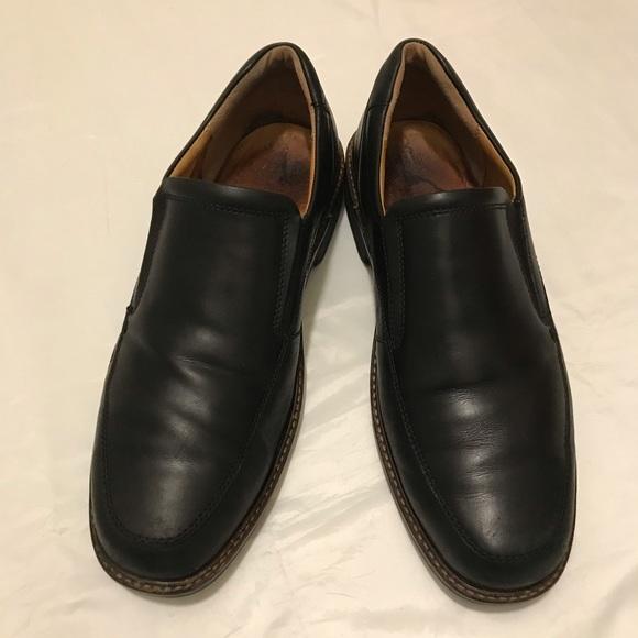 ecco slip resistant shoes mens